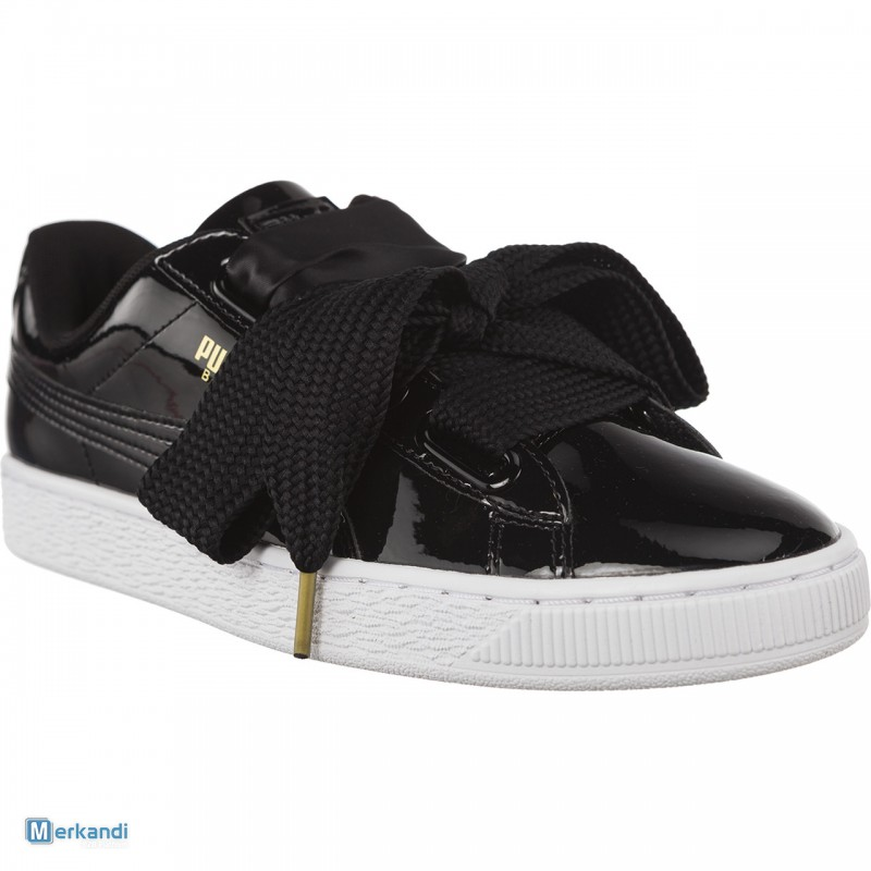 zapatillas puma basket heart patent